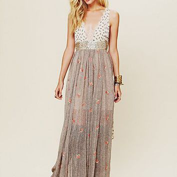 Free People FP New Romantics Pennies From Heaven Dress