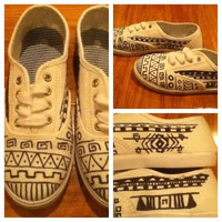 Tribal Print Shoes