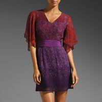 Nanette Lepore Bonfire Silk Dress in Violet Multi from REVOLVEclothing.com