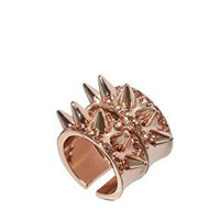 ASOS Two Pack Spike Rings at asos.com