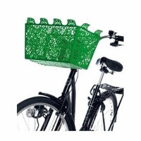 Design House Carrie Bicycle Basket (green) - Gifts For Women