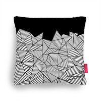 Quirky Illustrated Gifts | Abstraction Mountain Cushion by Project M | Ohh Deer