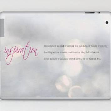 Inspiration Laptop & iPad Skin by secretgardenphotography [Nicola] | Society6
