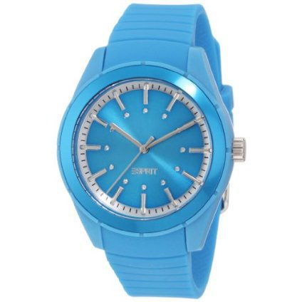 ESPRIT Women's ES900642011 Play Solid Blue Analog Watch - designer shoes, handbags, jewelry, watches, and fashion accessories | endless.com