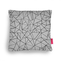 Quirky Illustrated Gifts | Abstraction Lines Cushion by Project M | Ohh Deer