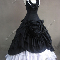 Civil War Southern Belle Lolita Ball Gown Dress 081 M