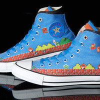 Converse x Super Mario Bros. Chuck Taylor Hi Sneakers