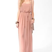 Cutout Side Slit Maxi Dress