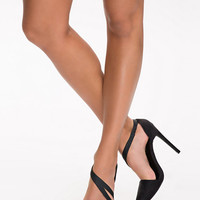 Strappy D'orsay Pump - Nly Shoes - Black - Party Shoes - Shoes - Women - Nelly.com