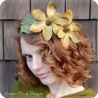 Flower Child Crown by GreenTrunkDesigns on Etsy