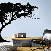 Vinyl Wall Art Decal Sticker TREE Shade Design WD-0004