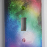 In Space: Decorative Light Switch Cover - Single Toggle