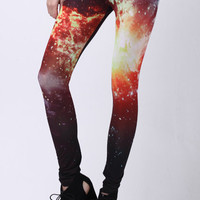 Burning Fire Leggings(Arrival on August 13th) [ALD0034] - $24.99 :