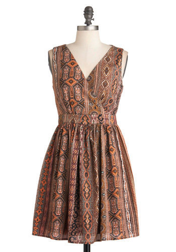 Chatting Over Chai Dress | Mod Retro Vintage Dresses | ModCloth.com