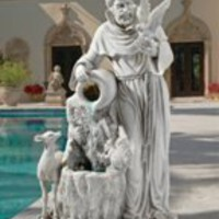 Garden Fountain | St. Francis' Life-Giving Waters Fountain