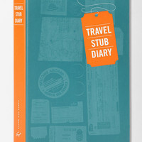 Travel Stub Diary By Eric Epstein