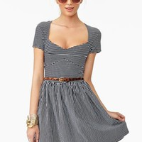 Linda Stripe Dress