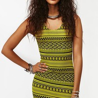 Tribal Stripe Dress