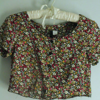 Floral Crop Top