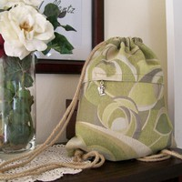 Designer Drawstring Backpack on Luulla