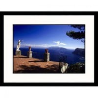 Great American Picture Cliffside Terrace, Capril Framed Photograph - Dave Bartruff - IS629728