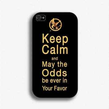 Hunger Games Mockingjay inspired - iPhone 4 Case, iPhone 4s Case, iPhone 4 Hard Case, iPhone Case