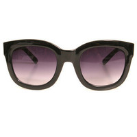 GYPSY WARRIOR - Oversize Wayfarer - Black
