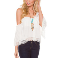 Renesme Top - White