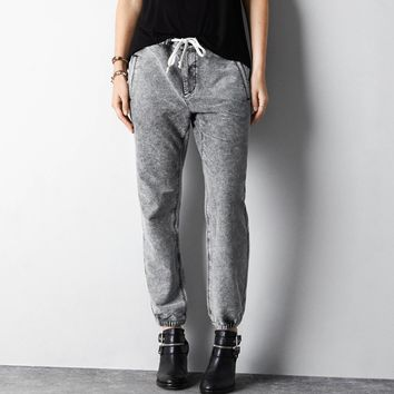 AEO Jogger Pant, Grey | American Eagle Outfitters
