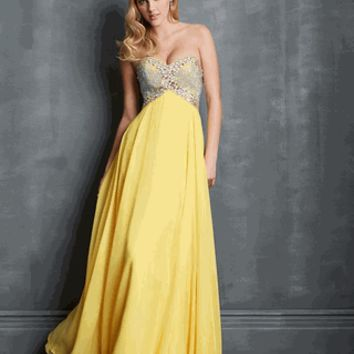 Night Moves Style 7013 Size 10 Yellow