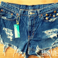 SALE Studded Shorts (Size MEDIUM to LARGE)