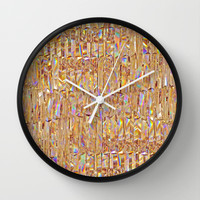 To Love Beauty Is To See Light II (Crystal Prism Abstract) Wall Clock by soaring anchor designs ⚓ | Society6