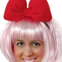 Sweet in the City Red Minnie Mouse Inspired Headband Hair Bow Big Large Oversize Statement Unique Fashion Accessories