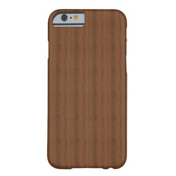 Melamine Wood Pattern iPhone 6 Case