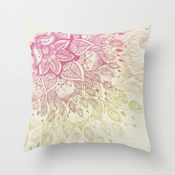 Lovely Lady Throw Pillow by rskinner1122
