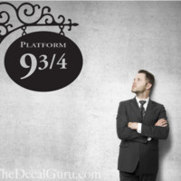 Harry Potter Platform 9 & 3/4 | Wall Decals | The Decal Guru