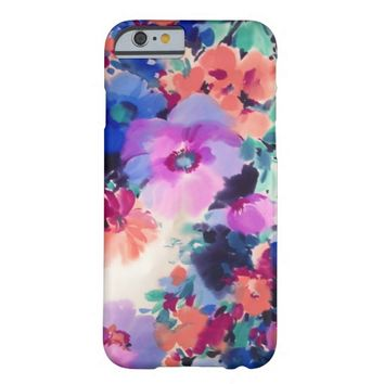 Purple Floral pattern iPhone 6 case