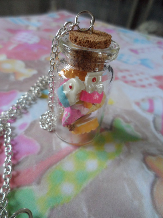 sweets and treats necklace