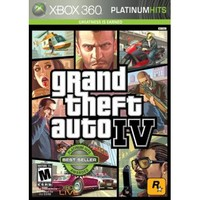 Grand Theft Auto IV Platinum Hits - Xbox 360