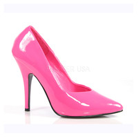 Hot Pink Patent Leather Seduce Pumps