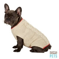 Martha Stewart Pets® Cable Knit Holiday Sweater
