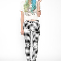 Charming Checkered Pants – Girls Streetwear Fashion & Clothing | Minty Jungle