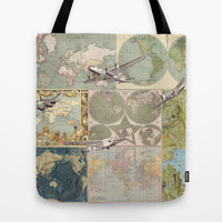 Flight Patterns Tote Bag by Catherine Holcombe