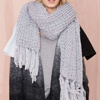 Jaya Scarf - Heather Grey