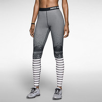 Nike Pro Hyperwarm Compression Engineered Print Women's Tights