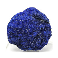 Sparkly Blue Azurite from Morocco Mineral Specimen