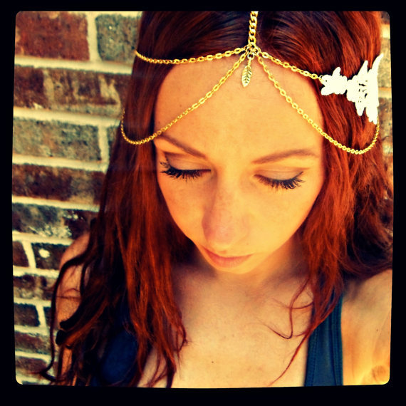 Magical Gypsy Hair Chain Headband Jewelry