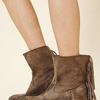 Free People Sienna Fringe Boot