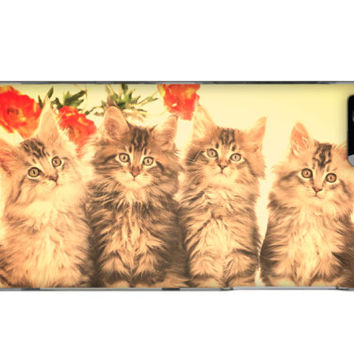 Four Kittens Case For All Cat Lovers iPhone 5/5S!
