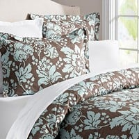 Dorothea Organic Floral Duvet and Shams